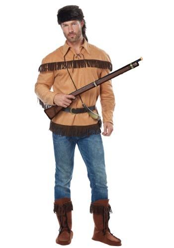 Disfraz de Davy Crockett para adulto