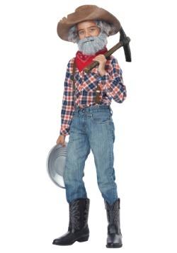 Kit de disfraz de prospector para niño