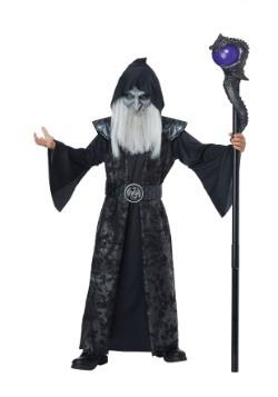 Disfraz de mago oscuro para niño
