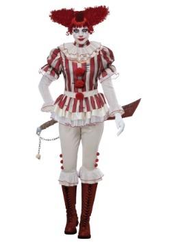 Disfraz de payaso sádico de mujer