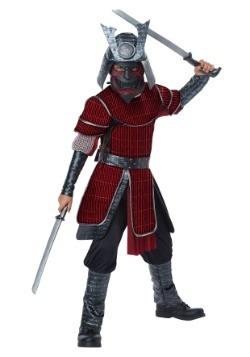 Disfraz de samurai infantil de lujo