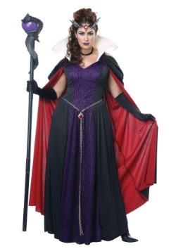 Disfraz de tamaño Queen Queen Evil Storybook Queen Plus Size