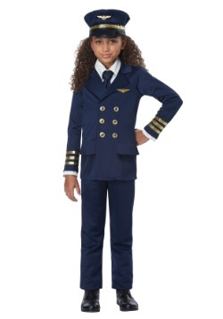Disfraz de piloto de línea aérea para niños