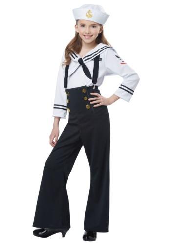 Disfraz de marinero para niñas