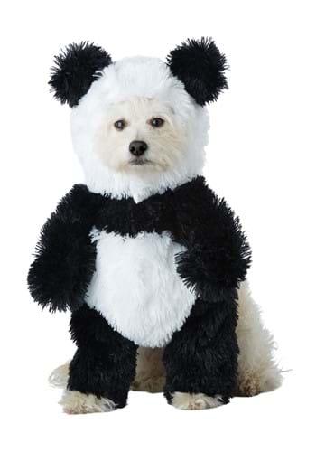 Disfraz de panda de perro