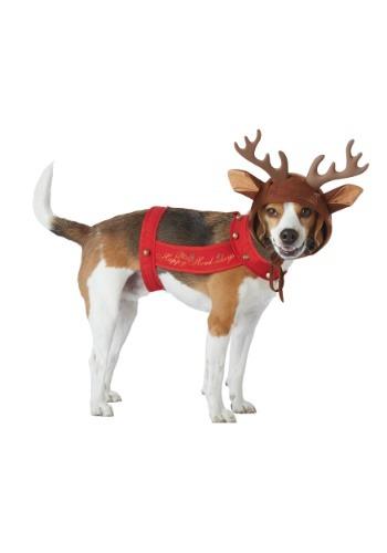 Disfraz de reno para perros
