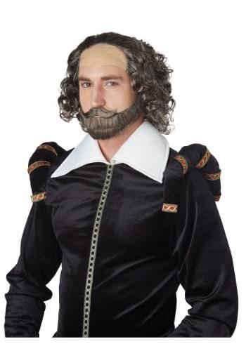 Juego de barba y peluca de Shakespeare