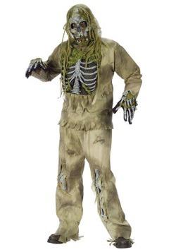 Disfraz de zombi esqueleto
