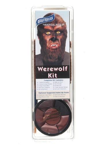 Kit de maquillaje de hombre lobo de lujo