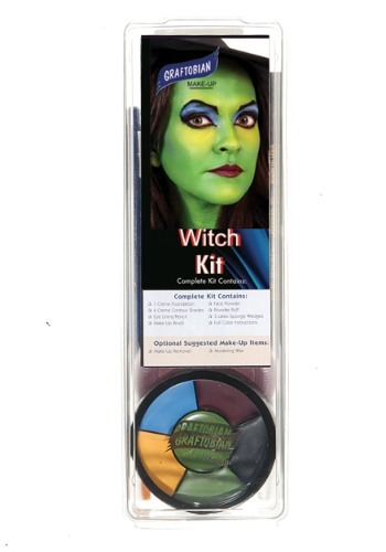 Kit de maquillaje Deluxe Witch