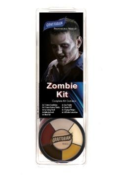 Kit de maquillaje Deluxe Zombie
