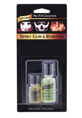 Pegamento Spirit Gum y limpiador deluxe