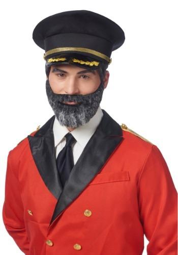 Bigote y barba Capitán Obvio