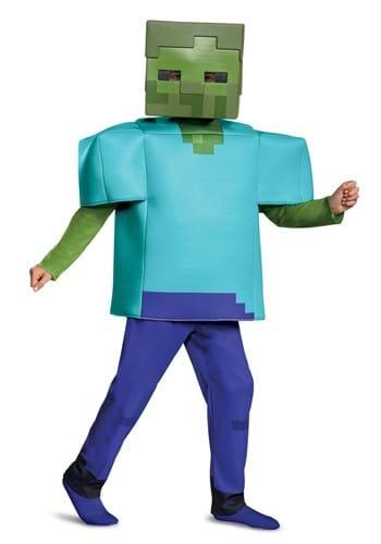 Disfraz de zombie infantil Minecraft Deluxe