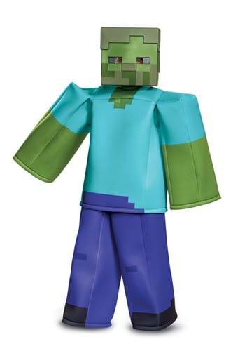 Disfraz de zombie infantil Minecraft Prestige