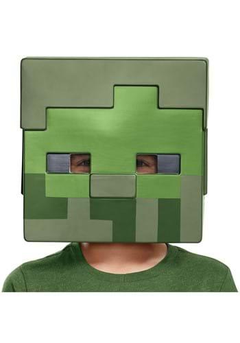 Semimáscara Zombie infantil de Minecraft
