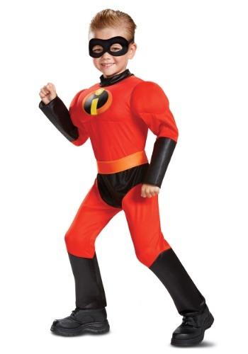 Disfraz Dash musculoso Los Increíbles 2 de Disney niños