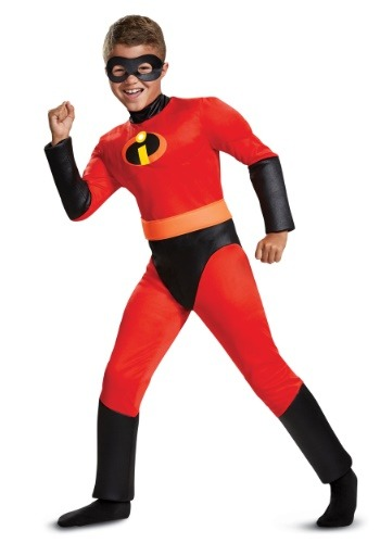 Disfraz Dash musculoso Los Increíbles 2 de Disney para niño