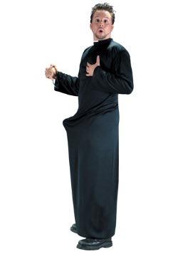 Disfraz de sacerdote No pierdas la fé