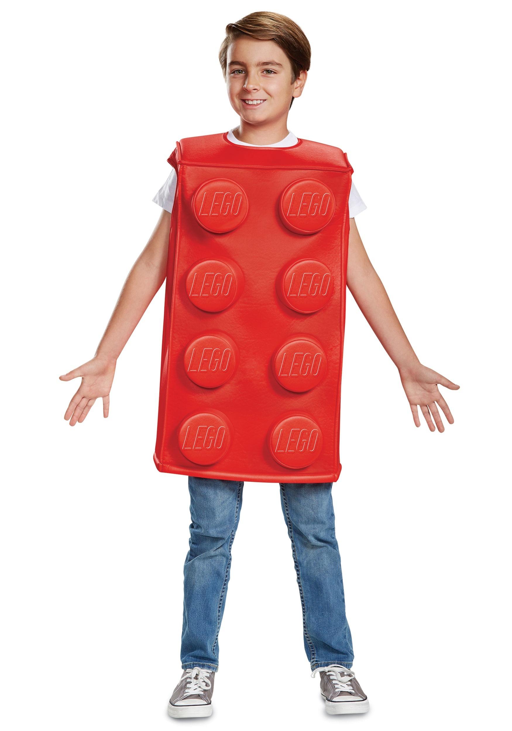 3f6f9902 Disfraz de pieza roja de Lego