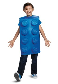 Disfraz de Lego Blue Brick para niño