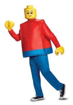 Disfraz de hombre Lego para adulto deluxe