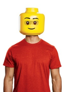 Máscara de Lego para adulto