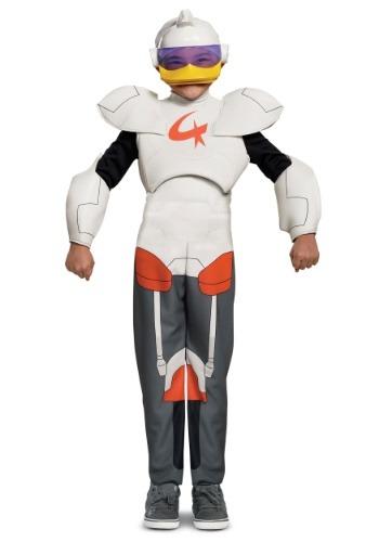 Disfraz de pato cuentos Gizmoduck para niños