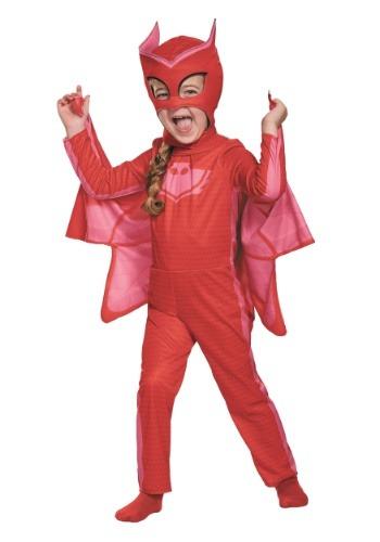 PJ Masks Disfraz de Owlette clásico para niño