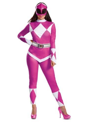 Disfraz de Power Rangers Pink Ranger para mujer
