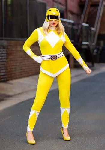 Disfraz de Ranger Amarillo de mujer Power Rangers Update