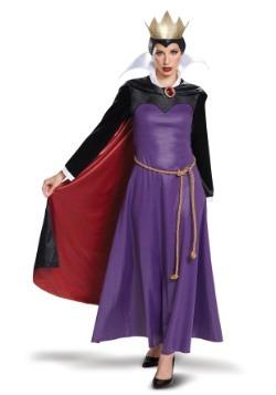 Disfraz de reina malvada de mujer de lujo