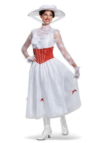 Disfraz de Mary Poppins para mujer de lujo