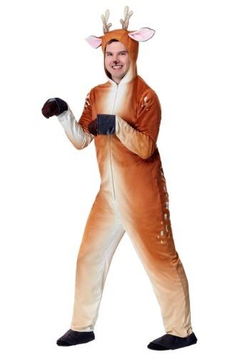 Disfraz de ciervo realista para hombre