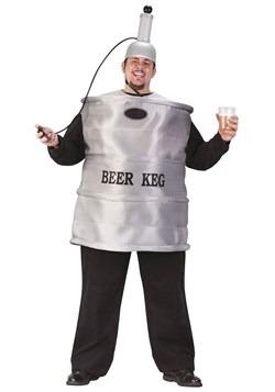 Disfraz de barril de cerveza talla extra