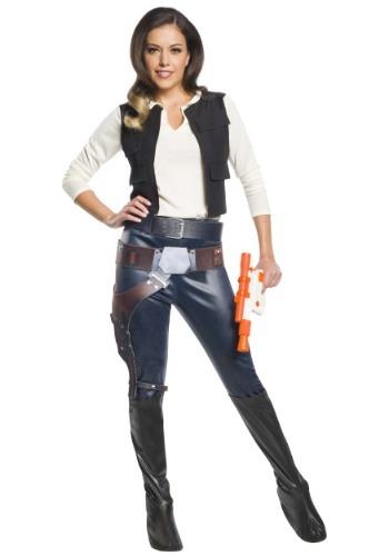 Disfraz de Han Solo para mujer