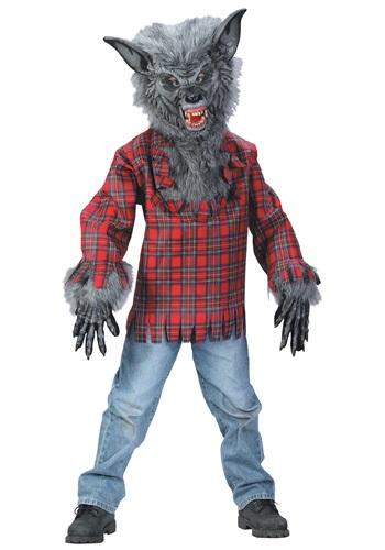 Disfraz de hombre lobo para niños