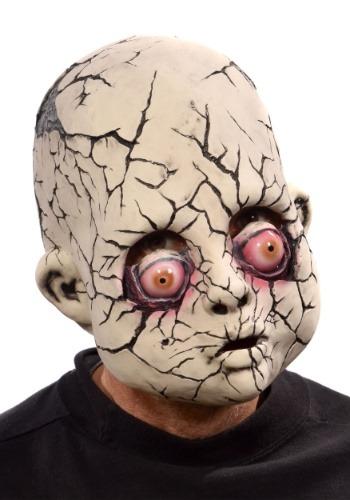 Adulto Crack Baby Doll Mask