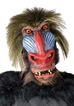 Máscara de mono babuino adulto
