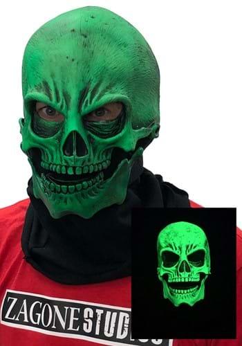 Máscara verde brillante UV para adulto