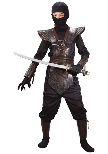 Disfraz de Ninja de cuero para niños