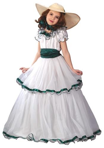 Disfraz de belleza sureña para niños