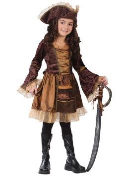 Disfraz infantil de pirata victoriano atrevido