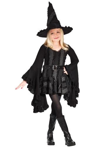 Disfraz de bruja malvada del oeste para niños