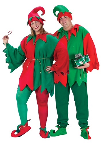 Disfraz de elfo talla extra