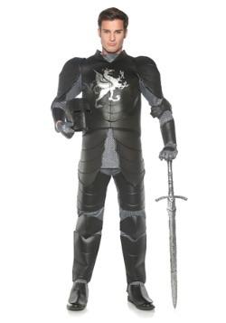 Disfraz de Caballero Negro Plus para hombre