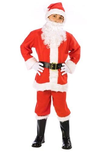 Traje infantil de Santa