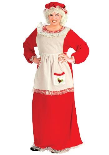 Disfraz de Señora Claus talla extra