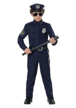 Disfraz de policía para niños pequeños