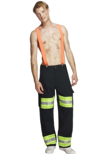 Disfraz de bombero caliente ardiente para hombres